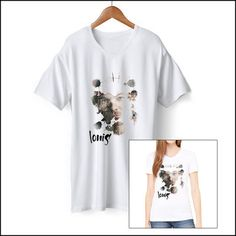 One Direction: One Direction Exclusive Louis Splatter Tee
