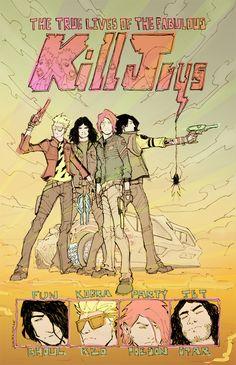 My Chemical Romance Danger Days Killjoys by Walter-Ostlie on deviantART