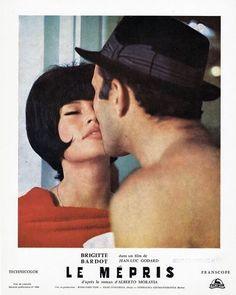 Le Mépris directed by Jean Luc Godard starring Brigitte Bardot.