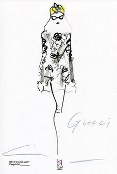 Gucci Resort 2016, by Miyuki Ohashi