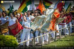 Marcha para Jesús en Santa Cruz de la sierra Bolivia