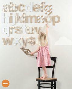 @flatout frankie cardboard alphabet
