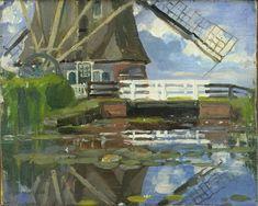 17truncated_view_of_the_broekzijdse_molen_on_the_gein_by_piet_mondrian