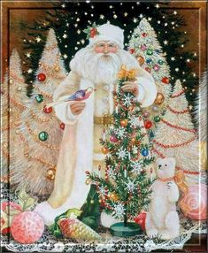 St. Nicholas  animated gif sparkle christmas christmas tree graphic santa claus christmas pics st. nick st. nicholas
