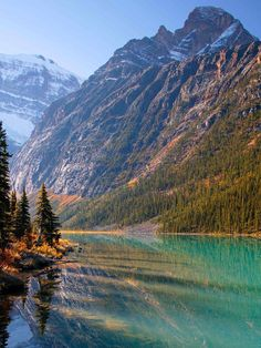Jasper National Park, Alberta, Canada - SO BEAUTIFUL! I stayed in a cabin with my family here in 2003 :) - SL