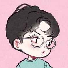 Sehun chibi lucky one Sehun, Exo Lucky One, Exo Anime, Exo Fan Art, Kpop Drawings, Estilo Anime, Kpop Fanart, Manga, Cute Wallpapers