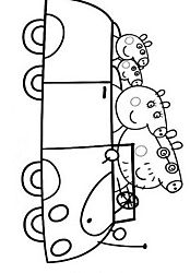 Peppa Pig coloring pages drawing picture 37 15 anos Pinterest