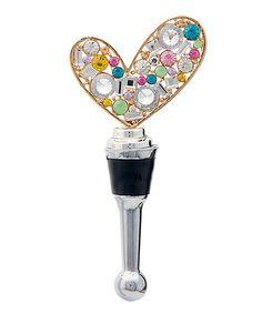 Love this Heart Bottle Stopper on #zulily! #zulilyfinds