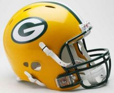 Green Bay Packers Revolution Helmet by Riddell #packers #football #playoffs