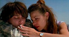 Depp & Taylor in Arizona Dream