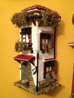 1000 images about 2 tejas y casas on pinterest - Tegole decorate istruzioni ...