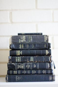 Bibles falling apart are usually owned by people who aren't !
