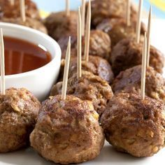 What Food and Drinks to Serve, Simple Baby shower food ideas, fingerfood baby shower food recipes, baby shower food recipes, baby shower punch drinks recipe Baby Shower Simple, Baby Shower Food Easy, Baby Boy Shower, Food Baby, Sausage Balls, Turkey Sausage, Turkey Meatballs, Mini Meatballs, Spicy Meatballs