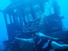 Mergulho no naufrágio Taurus.  Recife (PE) - Brasil