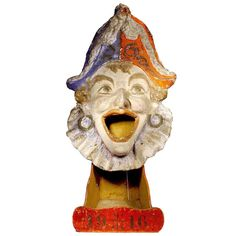 1916 French Papier-Maché Toy | From a unique collection of antique and modern toys at http://www.1stdibs.com/furniture/folk-art/toys/