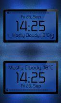 Aion-Zooper clock widget pack Screenshot
