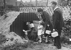 "11 Jun 40: British householders in possession of ""Anderson Shelters"" are required by law have them up and earthed by today. #WWII"