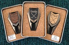 Personalized Groomsmen Gifts Wood Golf Ball Marker / Divot Remover - Gifts for Groomsmen, Best Man Gift, Father of the Bride Gift Golf Wedding, Gifts For Wedding Party, Wedding Ideas, Groomsmen Gifts Unique, Groomsman Gifts, Groomsmen Accessories, Guest Gifts, Golf Gifts, Bridesmaids And Groomsmen
