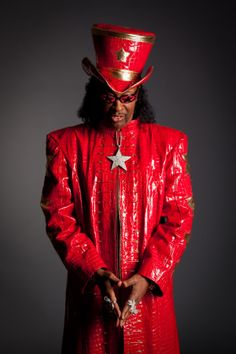 Funk maestro and bassist Bootsy Collins Music Film, Music Icon, My Music, New Artists, Great Artists, Music Artists, Black Artists, Siamese Dream, Bootsy Collins