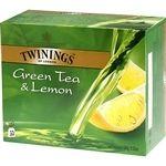 Twinings Vihreä Tee & Sitruuna