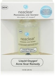 ShopStyle: Neaclear Liquid Oxygen Acne Scar Remedy  Only $12.99! Definitely give it a try for the face and the back!