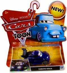 Disney / Pixar CARS TOON 155 Die Cast Car Kabuto Ninja by Mattel. $31.97. For Ages 3 & Up. Disney Pixar Cars Toon Collection 1:55 scale die cast car from Mattel. 2010 DISNEY MOVIE CARS TOON KABUTO NINJA #17