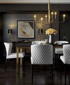 5 Imaginative Tips AND Tricks: Dining Furniture Ideas Storage dining furniture design benches.Dining Furniture Design Home dining furniture ideas farmhouse style.Dining Furniture Design Home. Dining Room Walls, Dining Room Lighting, Dining Room Sets, Dining Room Design, Dining Chairs, Living Room, Grasscloth Dining Room, Table Lamps, Furniture Room