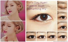 "Girl's Day Hyeri Inpsired Eye Makeup from ""Something"" MV!"