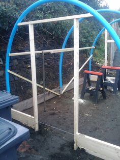 PAULS ALLOTMENT DIARY: Build Your Own Poly Tunnel