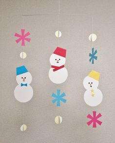 Christmas Activities, Christmas Crafts For Kids, Christmas Art, Fall Crafts, Holiday Crafts, Diy And Crafts, Paper Crafts, Paper Christmas Decorations, Theme Noel