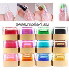 Transparent Gellack in 12 Farben