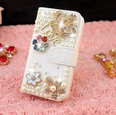 2014 Hotsale!girl Men Boy Women Christmas Gift Thanksgiving Gift Pu Leather Apple Iphone5c Case Style Crystal Iphone 5c Purse Case to World:Amazon:Beauty