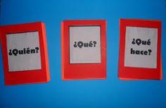 Material pedagógico hecho en casa: Formar oraciones ¡divertidas!
