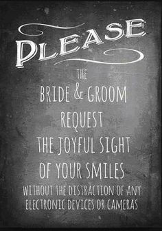 10 social media rules for weddings
