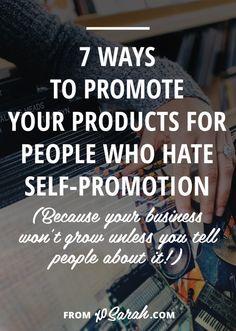 Still wondering if you should be tweeting, pinning, and promoting your own stuff and how often to do it? If you, A) want to build a business and B) want to make money from that business, you're gonna need to learn self-promotion ASAP. Here's how!