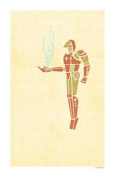 Father Ironman || Tony Stark || by Jeffrey Veregge || 647px × 1,000px || #fanart