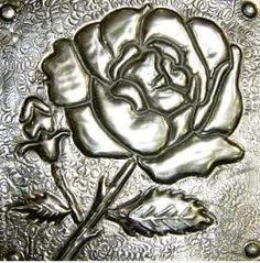 Pewter Rose