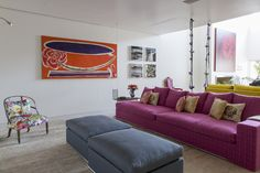 Open house - Silvia Cavalcanti. Veja: http://casadevalentina.com.br/blog/detalhes/open-house--silvia-cavalcanti-2946  #decor #decoracao #interior #design #casa #home #house #idea #ideia #detalhes #details #openhouse #style #estilo #casadevalentina #livingroom #saladeestar