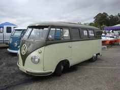 I love this custom paint on this VW bus