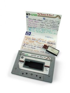 Last minute Father's Day gifts: Make a USB mix tape of his favorite songs. (Even if they're not yours, ha.)