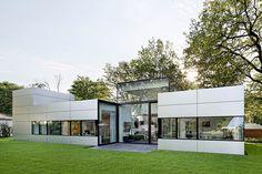 Современный одноэтажный дом Haus Neufert от студии Gatermann Schossig