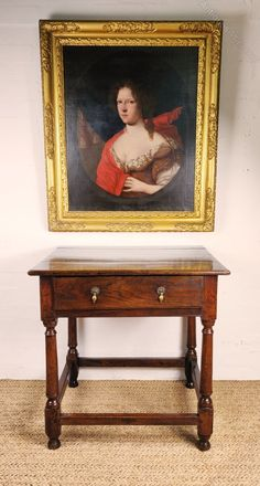 A Lovely Late 17th - Early 18th Century Side Table - Antiques Atlas