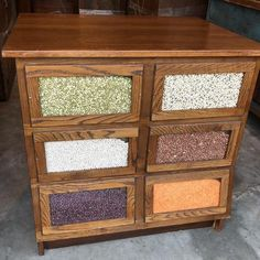 Items similar to Antique solid oak five drawer seed counter cabinet island shipping is not free on Etsy Antiques For Sale, Selling Antiques, Mums In Pumpkins, Cabinet Island, Country House Interior, Solid Oak, Counter, Drawers, Seeds