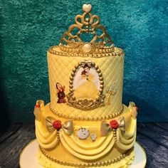 Gold Beauty Cake