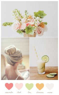 blush + lime (from The Sweetest Occasion)