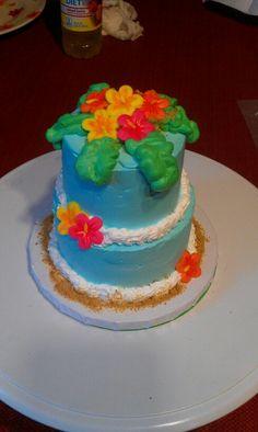 Mini Hawaiian cake.