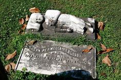A Sleeping Child, Elmwood Cemetery in Memphis, Tennessee  by The Nite Tripper, via Flickr