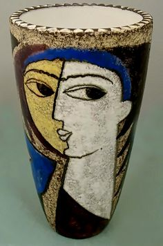 Picasso Womans Face vase