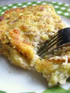 Mess of potatoes and sausage - Pasticcio di patate e salsiccia