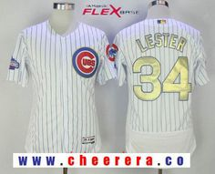 76adba459 ... name number t shirt 32020 86491  cheap jersey with 1990 mens chicago  cubs 34 jon lester white world series champions gold stitched